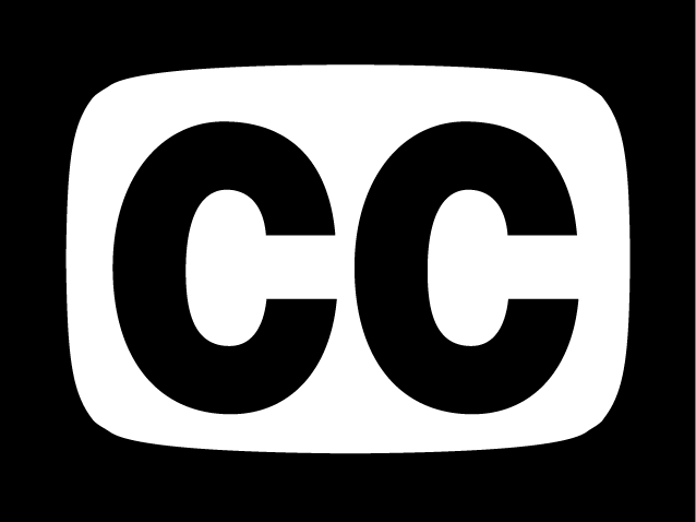 Closed Caption Symbol