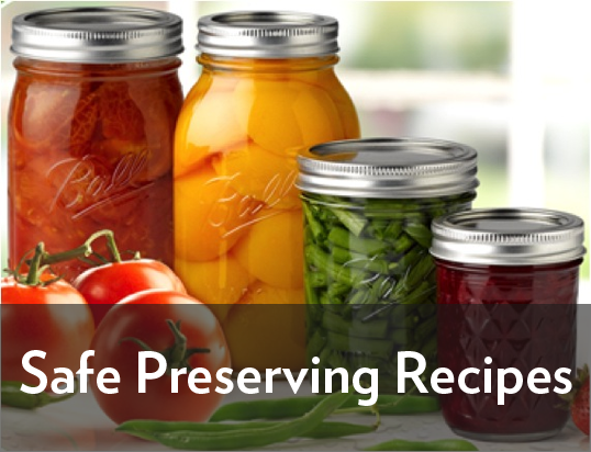 Safe Preserving Recipes