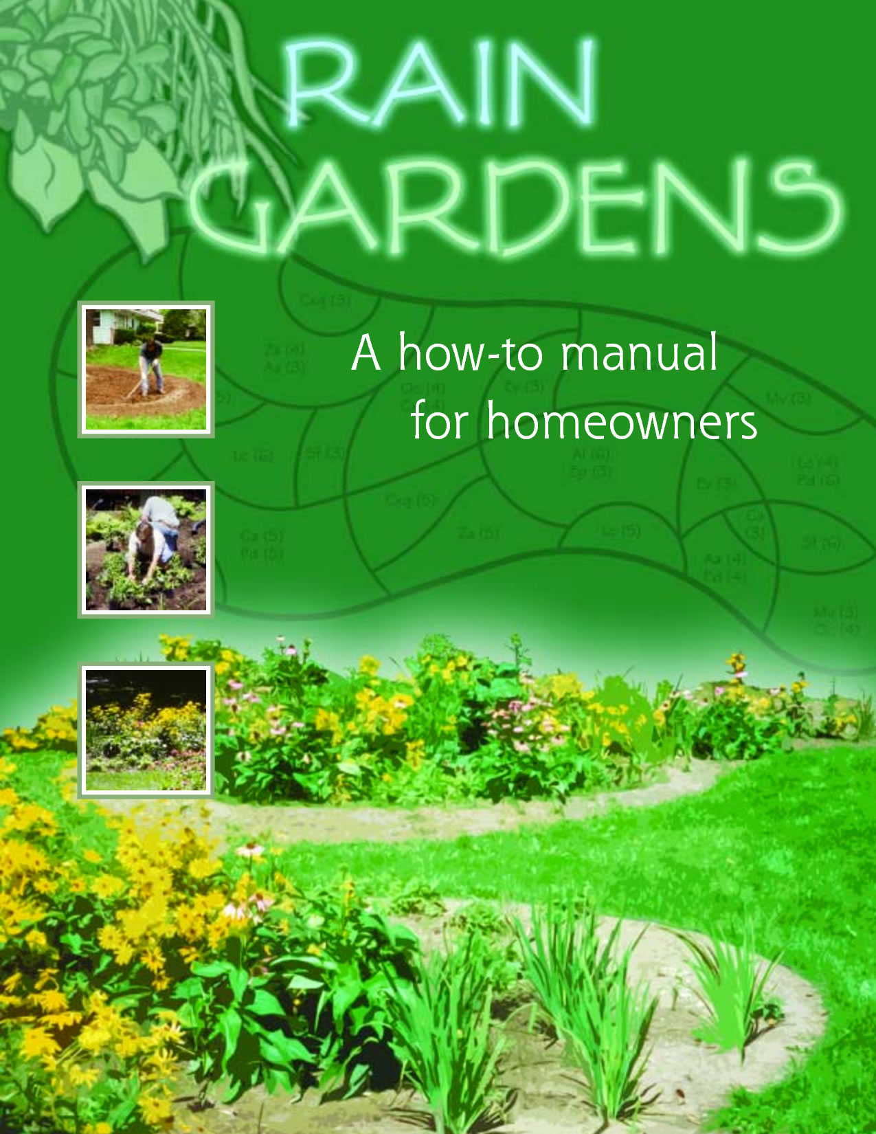 How to s and fact sheets southeast wisconsin rain garden for Rain garden design