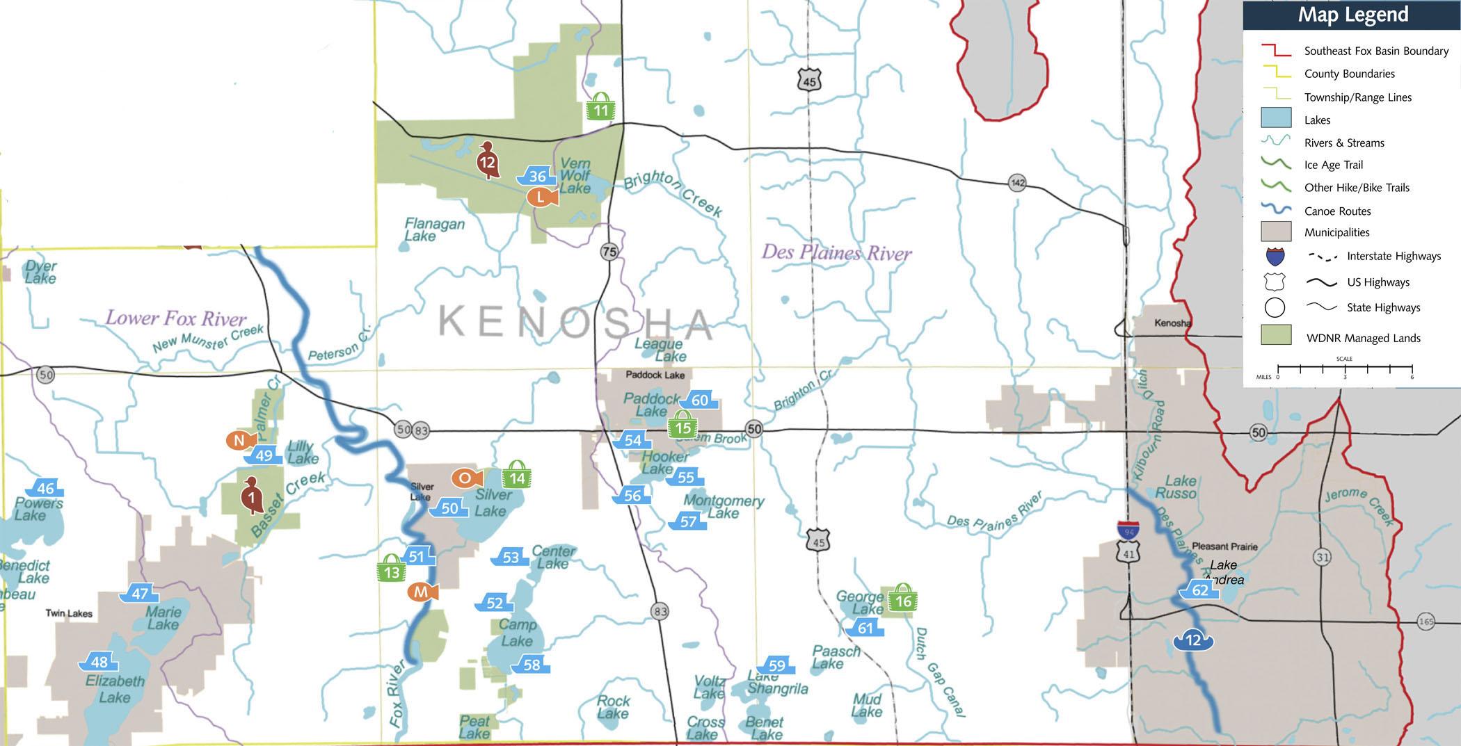Kenosha County  Southeast Fox River Partnership