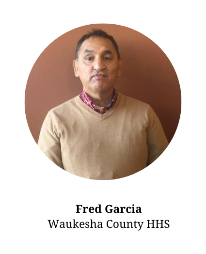 Headshot of Fred Garcia-member of the planning committee and part of the Waukesha County Health and Human Services Department