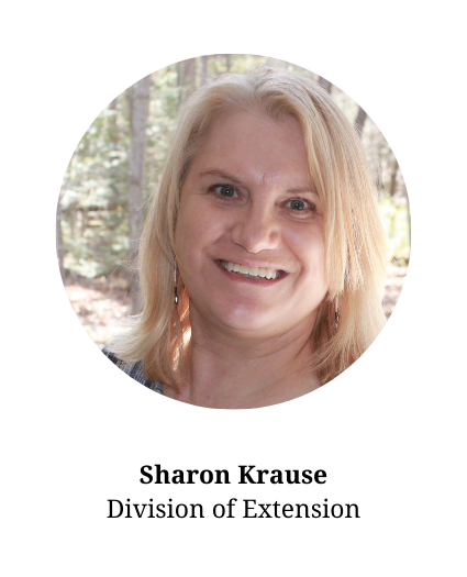 Headshot of Sharon Krause - member of the planning committee and part of UW Extension.