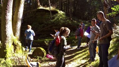 Adult workshop on Blackhawk Island