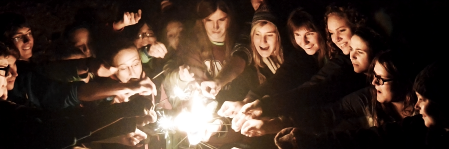 Group lighting sparklers