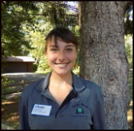 Photo of Isabelle Herde, Research Naturalist Program Coordinator