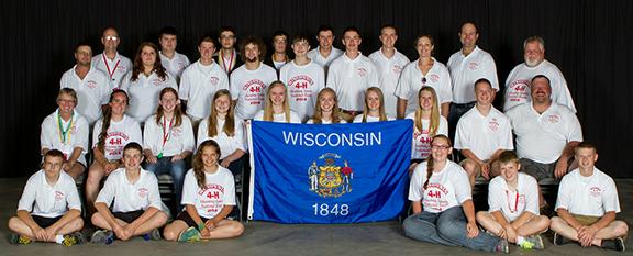 Wisconsin's 2014 National 4-H Shooting Sports Team in Grand Island, Nebraska.